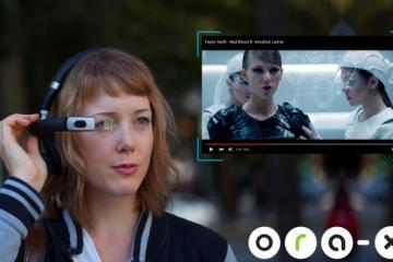 ORA-X Android powered Augmented Reality Headphones