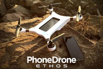 PhoneDrone Ethos: Turn Your Phone Into a Drone
