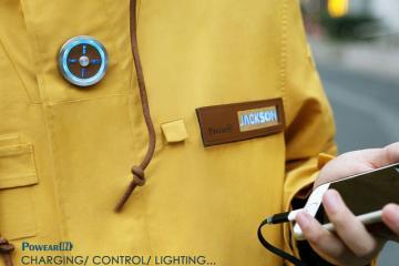 PowearIN: Smart Jacket Charges Your Phones