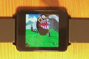 Running Nintendo 64 Games on Android Wear [LG G Watch]