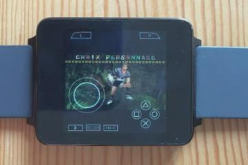 Running Monster Hunter Freedom Unite (PSP) on Android Wear [LG G Watch]