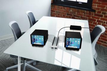 PowerFlow: 16-Port USB Charging Station