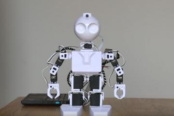 Controlling Educational Robots with Myo Armband