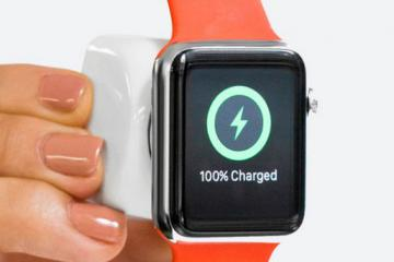 JOOSTCUBE: Tiny Power Bank for Apple Watch