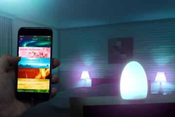 Avea Flare: Apple Watch Compatible Battery Powered LED Lamp