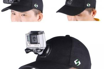SmaHat: Baseball Hat for GoPro