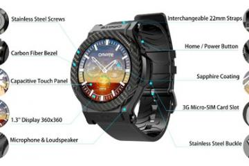 Omate Rise: Standalone Android Smartwatch
