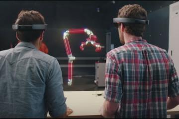 Microsoft HoloLens + Autodesk Fusion 360