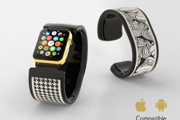 Bracelite: Interactive Watch Band for Apple Watch