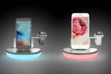 NuDock Mini: Smart Dock for Apple Watch & iPhone