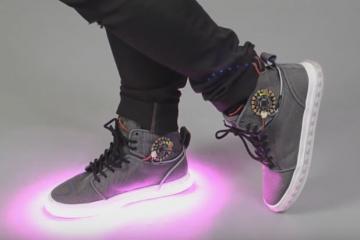 Firewalker 2.0 Sneakers: LED Sneakers
