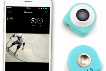 COCA Compact HD Camera with WiFi & App