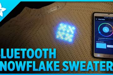 Bluetooth Snowflake Sweater [DIY]