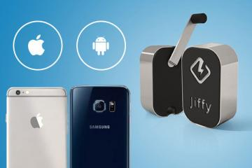 Jiffy: Emergency Charger for Your Gadgets