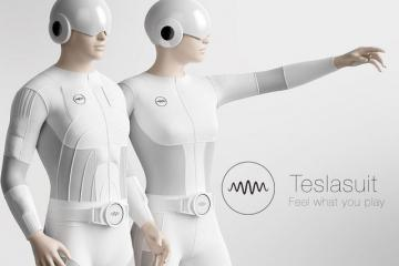 Teslasuit: Full-body Haptic Suit to Feel VR
