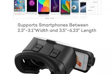 HooToo VR Headset for iOS & Android
