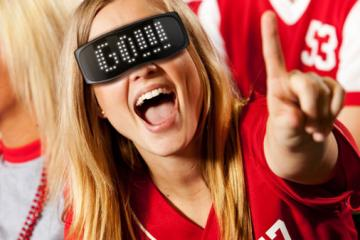 CHEMION Smart LED Glasses Let You Express Yourself