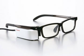 Toshiba Wearvue TG-1 Smart Glasses