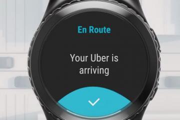 Samsung Gear S2 Smartwatch + Uber