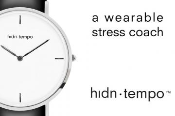 hidn tempo: Intelligent Watchband As Your Stress Coach