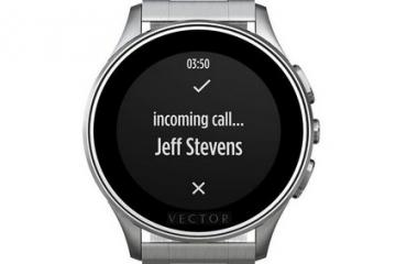 Vector Smartwatch w/ 30 Days Battery Life