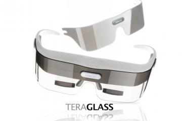 TeraGlass: Head-mounted Display for Immersive Video
