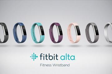 Fitbit Alta: Slim, Fashionable Wearable