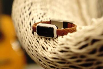 NiftyX Leather Charging Cable Bracelet