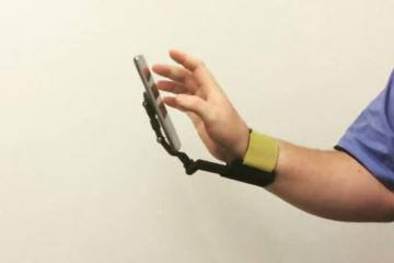 The TUSK Wearable Lets You Use Your Phone Hand-free