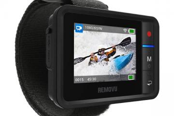 REMOVU R1+: Wearable WiFi Viewer + Remote for GoPro