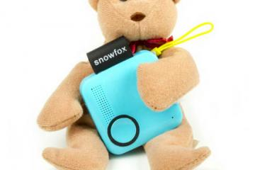 Snowfox: Kid Tracking Device with GPS & Voice Calling