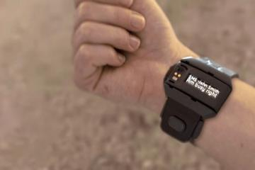Hot Band: Smart Watch Band for Private Calls