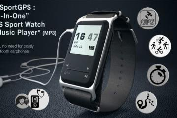 theSportGPS: Sport Watch & MP3 Player