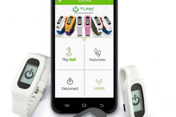 TLink Golf GPS Watch for iOS & Android