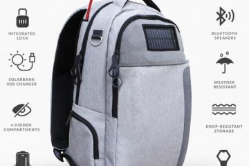 Lifepack: Solar / Anti-theft Backpack