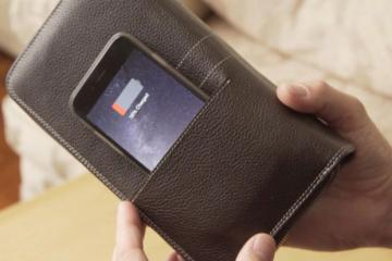 GOQI: Wireless Charging Wallet + Smartwatch Charger
