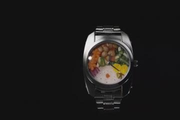Bento Watch Holds Your Food
