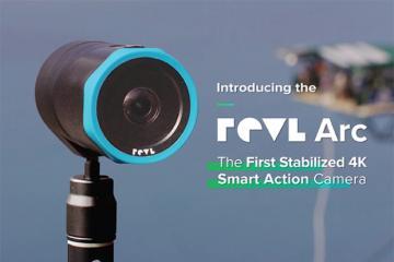 Revl Arc: Apple Watch Compatible Stabilized 4K Action Camera
