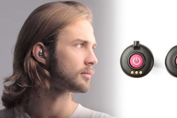 RippleBuds: Smart, Noise Blocking Earbuds + Microphone