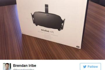 The Oculus Rift Has Started Shipping?