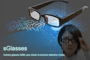 sGlasses: Smart Camera Glasses