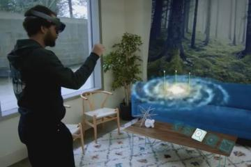 Galaxy Explorer For HoloLens Now Available