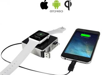 oCharger Smartphone & Smartwatch Charger
