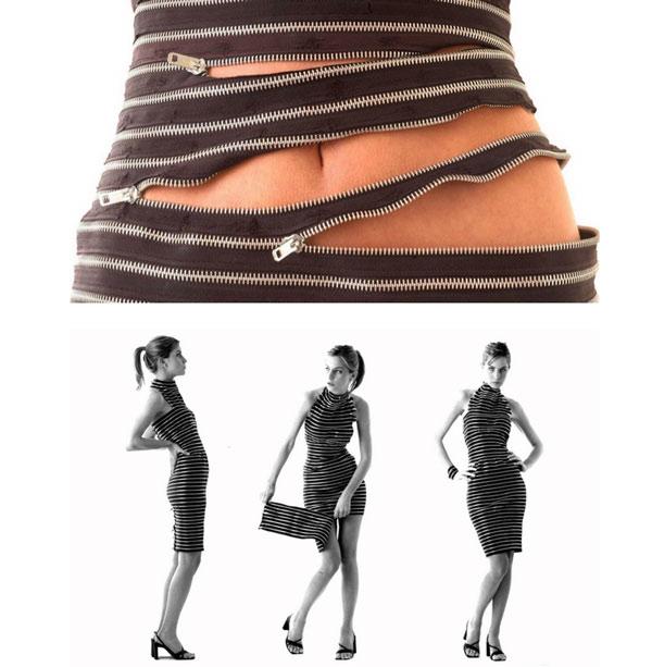 zipper-dress