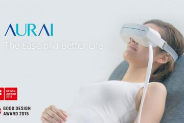 Aurai Water-based Eye Massager