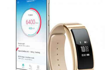 HUAWEI Talkband B3: Smartband + Bluetooth Headset