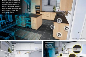 IKEA's Virtual Reality Kitchen for HTC Vive