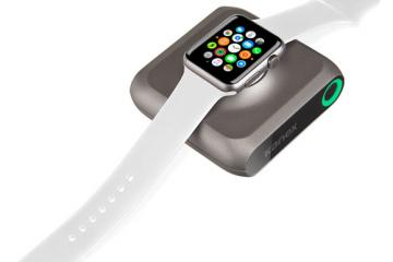 GoPower Watch: Portable Apple Watch Battery