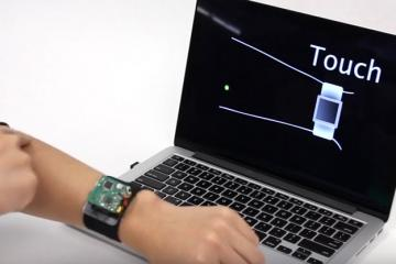SkinTrack: On Skin Tracking for Wearables