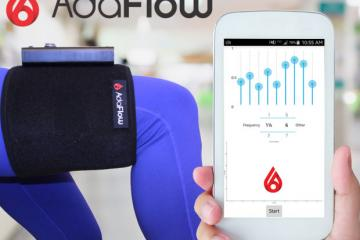 ADAFlow Smart Pressure Wave Massage Device